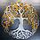 Tree of life metal sign