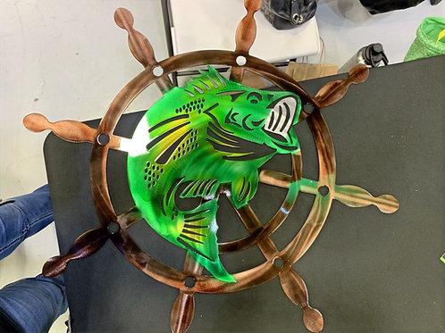 Bass in Ship Wheel