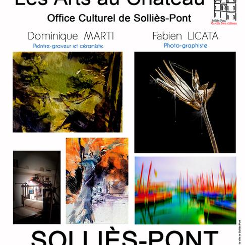 Expo au château de Solliès-Pont