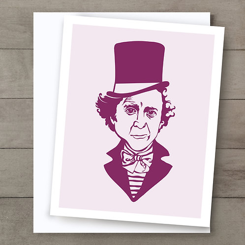 Willy Wonka Card