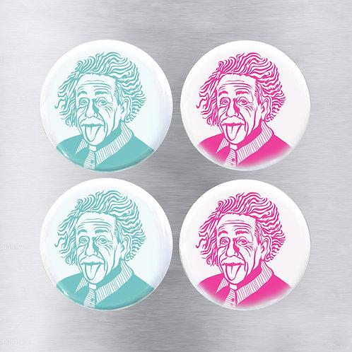 Magnet 4-Pack Einstein