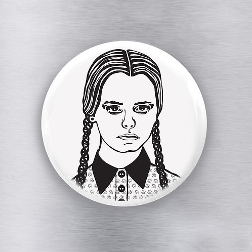 Wednesday Addams Magnet