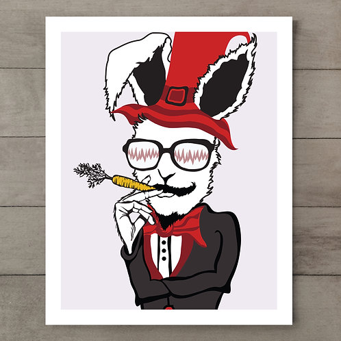 Rabbit Magic Art Print
