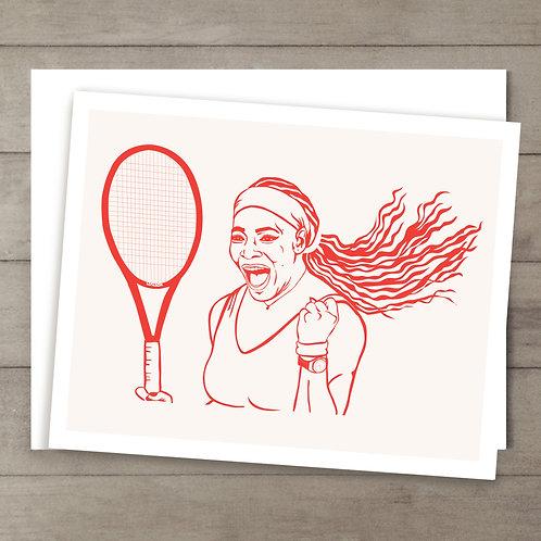 Serena Williams Card
