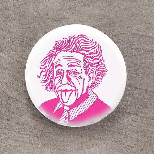 Einstein Pink Pin