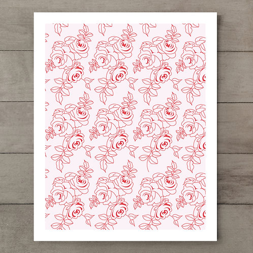 Pretty Rose Art Print