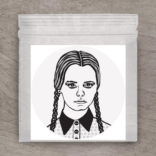 Wednesday Addams Sticker