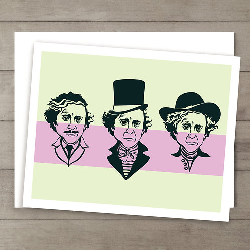 Gene Wilder Color Card