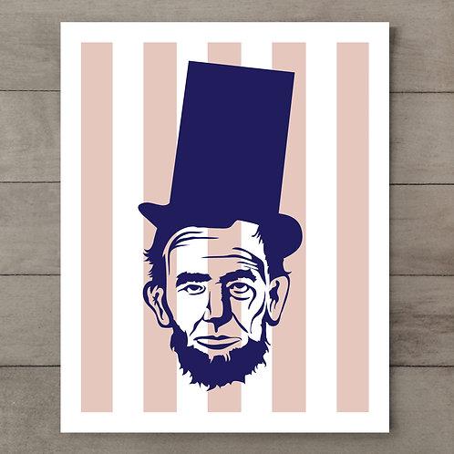 Abe Stripe Art Print