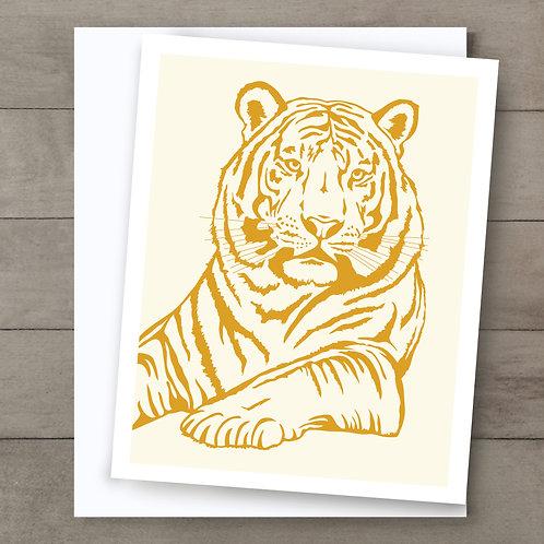 Tiger Orange Card
