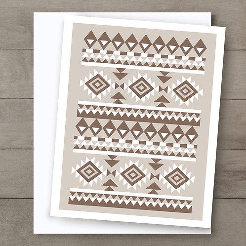 Aztec Totem Card