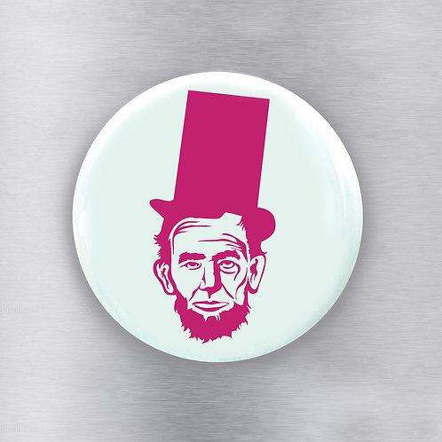 Abe Mint Pink Magnet