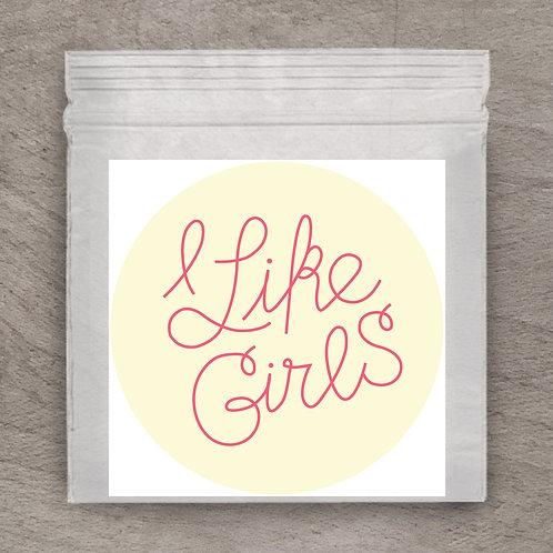 I Like Girls Sticker