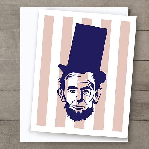 Abe Stripe Card