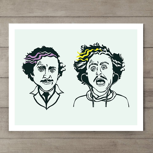 Dr. Frankenstein Art Print