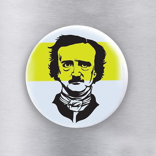 Edgar Allen Poe Magnet