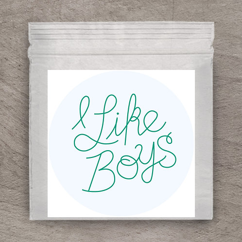 I Like Boys Sticker