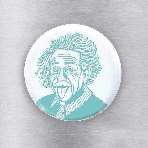 Einstein Teal Magnet