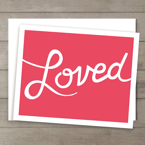 Loved Card
