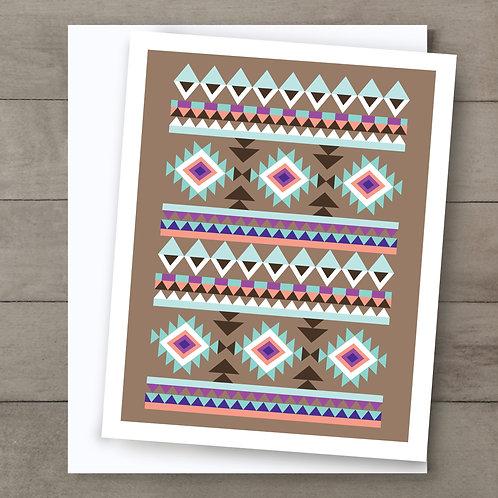Aztec Cheyenne Card
