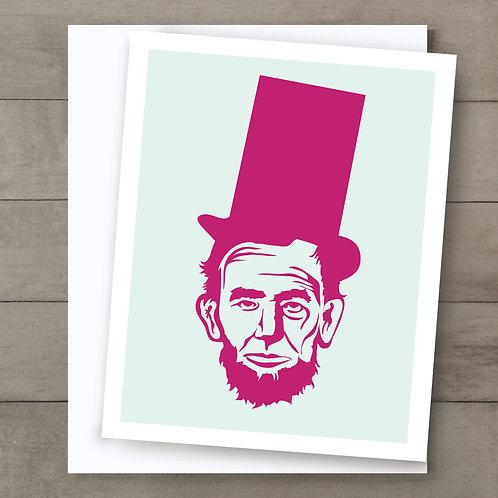 Abe Mint Pink Card