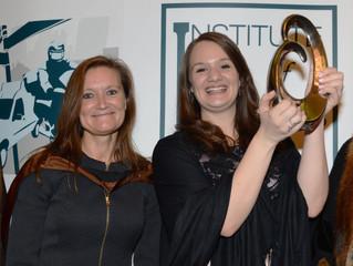 Emily White takes the Citation Award