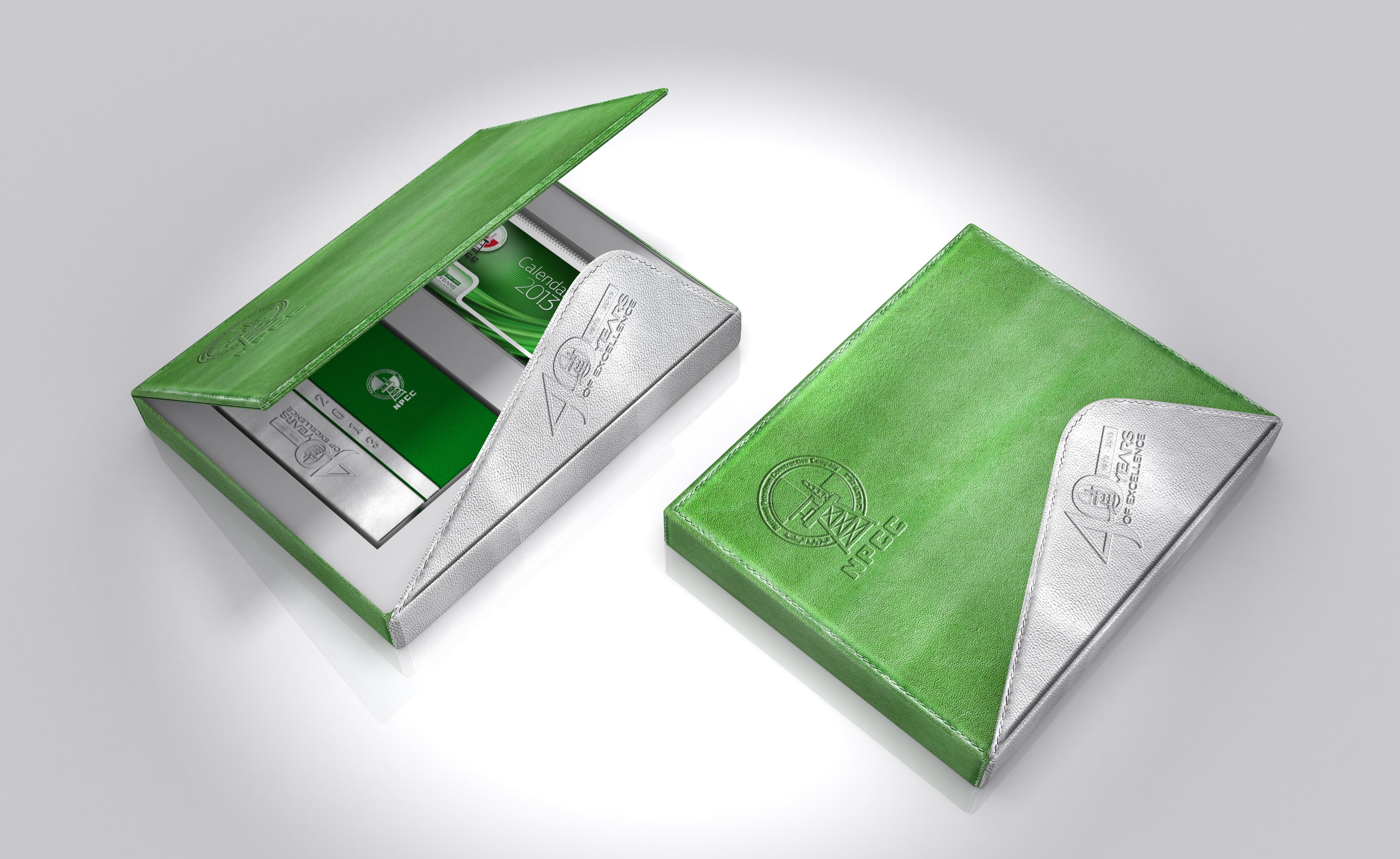 Leather Gift Box Design