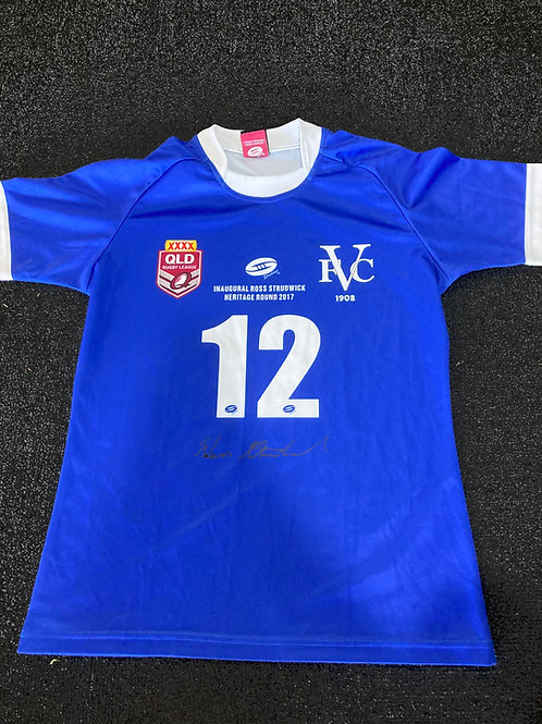 Ross Strudwick Signed Jersey - 2017 Heritage Round