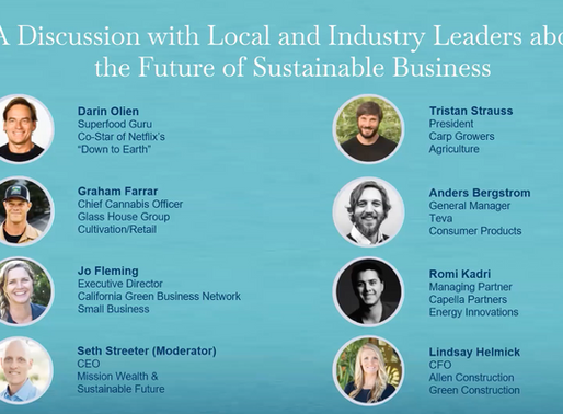 Santa Barbara Sustainability Symposium in the Press: Industry Leaders Discuss Sustainable Solutions