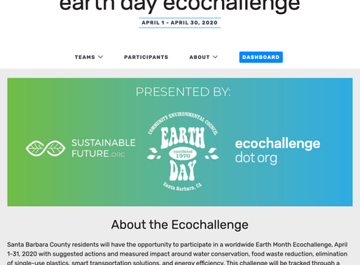 Love the Planet?  Join the Month-Long Earth Day Virtual EcoChallenge!