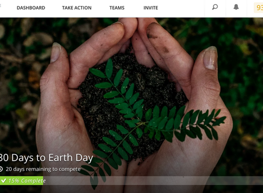 "Become A Part of ""30 Days To Earth Day"""