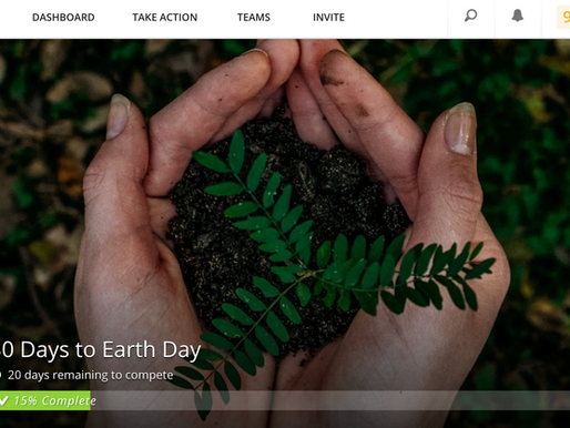 """Become A Part of """"30 Days To Earth Day"""""""