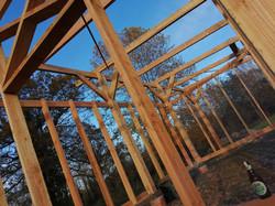Structure poteau poutres et colombages