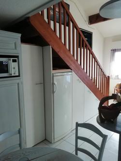 Aménagement sous escalier
