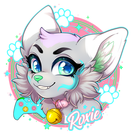 Roxie acrylic badge side1 small.png