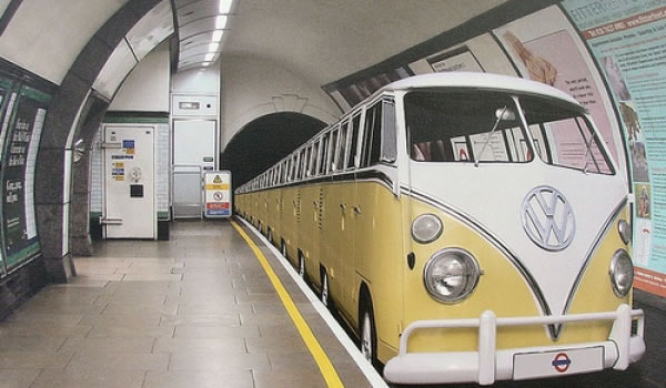 A VW Subway train??
