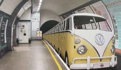 A VW Subway train??