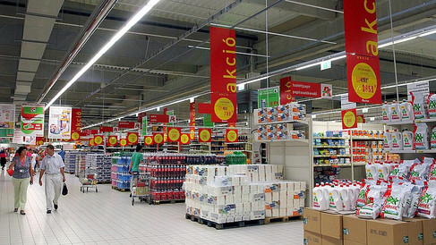 Nákupní řetězec Auchan - Maďarsko