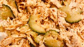 Simple Korean Chicken Salad