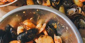 Korean Cajun Seafood Boil
