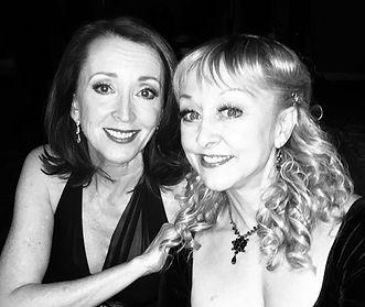 Teri Bibb with Christina Saffran