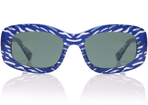 Le Specs Five Star Blue Ripple