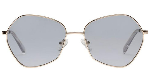 Le Specs Escadrille Gold-Grey