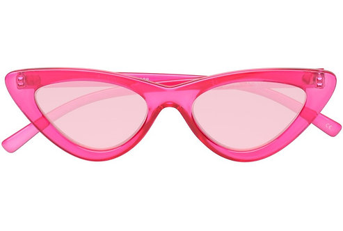 Le Specs The Last Lolita Crystal Hot Pink