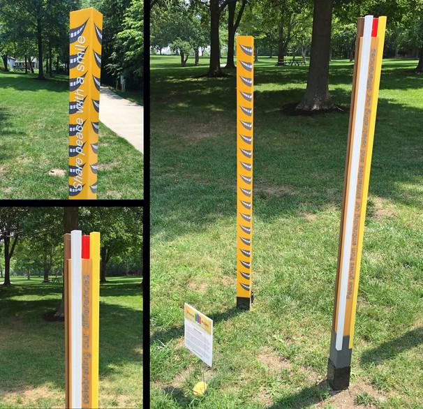 peace pole art