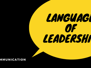 Mastering the Language of Leadership