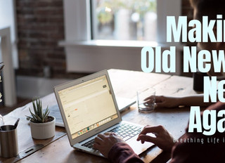 Making Old News, New Again: Breathing Life into Your Blog