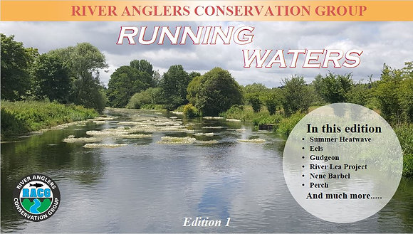 RACG Magazine - Running Waters Edition 1