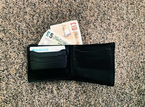 How much cash do you have in your wallet?