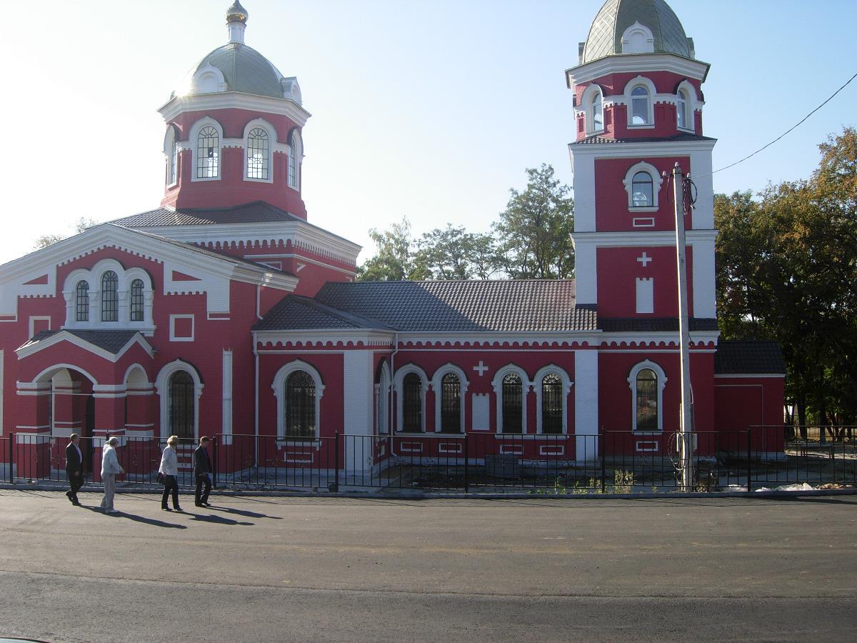 Храм с. Николаевка